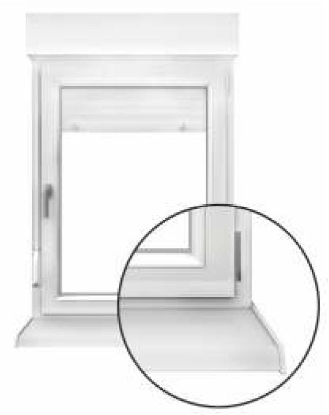Vendita davanzali alluminio pvc terrazzi finestre padova - Davanzali per finestre ...
