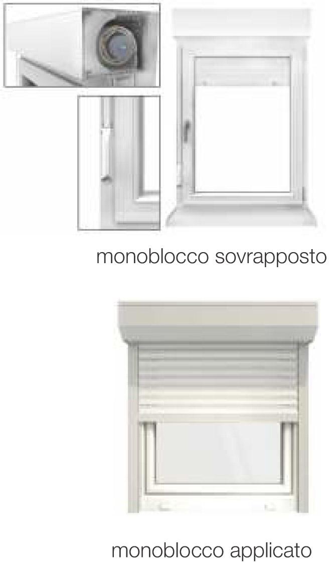Vendita monoblocchi per finestre padova - Finestre monoblocco in legno ...