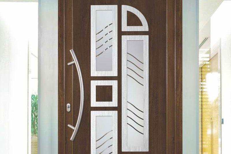 Porte d'ingresso in PVC